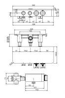 Смеситель для душа Fima - carlo frattini Switch F5940