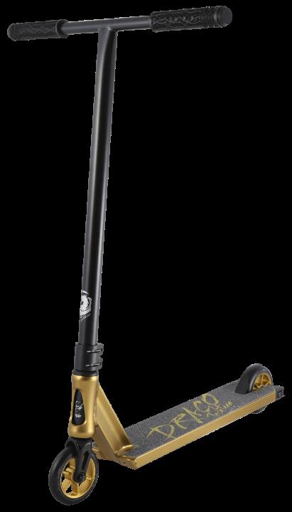 Трюковой самокат TT DRACO (2021) золотой