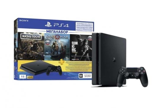 Игровая консоль PlayStation 4 1TB