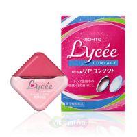 Rohto Lycee Contact Мягкие капли для контактных линз, 8 мл