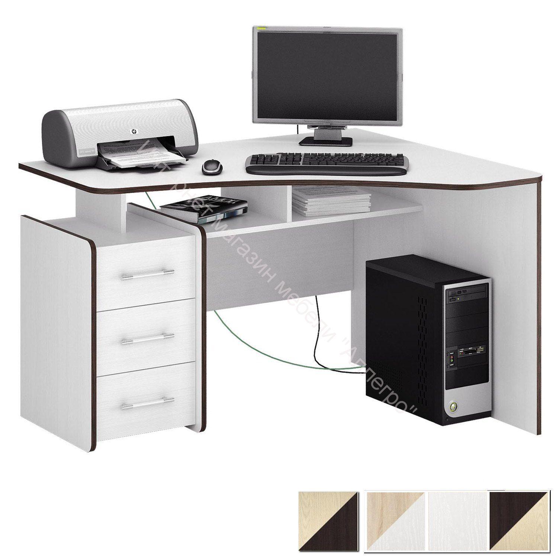 Стол компьютерный Триан 5 угловой правый