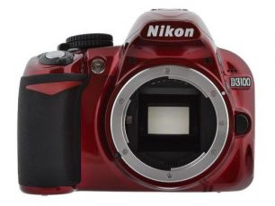 Canon D3100 BODY(RED)