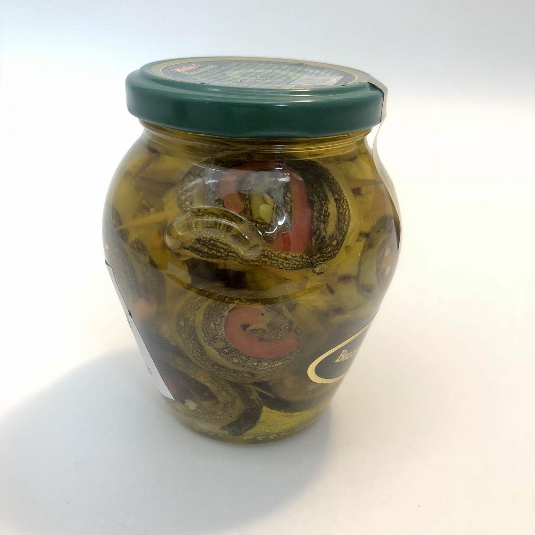 Рулончики из овощей-гриль в амфоре - 280 гр