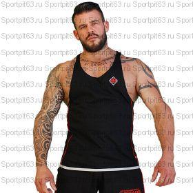 """Спортивная мужская майка Brachial Tank-Top """"Fresh"""" цв.BLACK/WHITE (M)"""