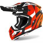 Airoh Aviator Ace Trick Orange Matt шлем для мотокросса и эндуро
