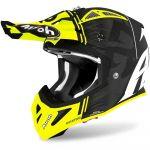 Airoh Aviator Ace Kybon Yellow Matt шлем для мотокросса и эндуро