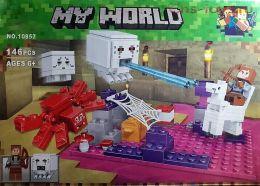 Конструктор Bela Minecraft 10957 (Аналог Lego Minecraft) 146 дет