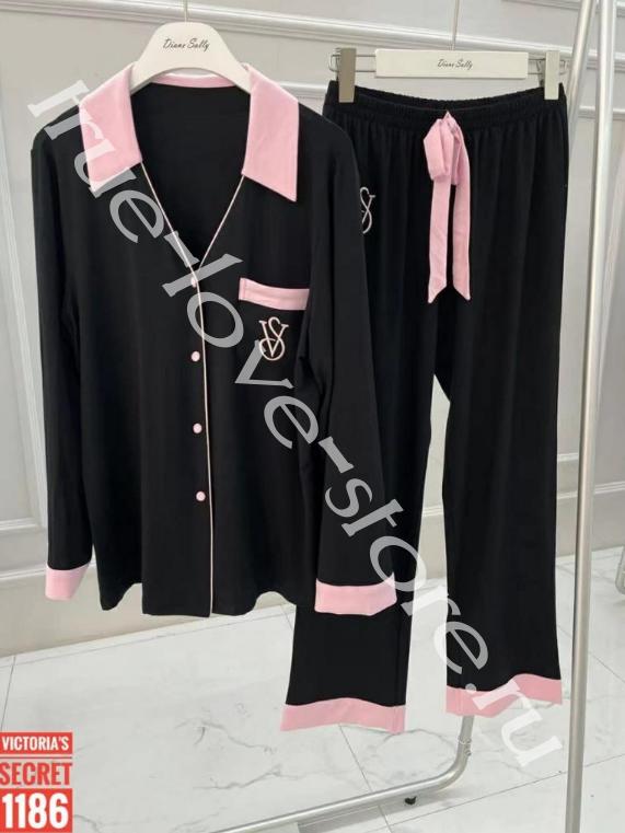 1186 -2- 1 шт пижамка двойка Victoria's Secret