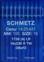 Иглы Schmetz DBxF2 1738 (A) LR №110/18 10шт