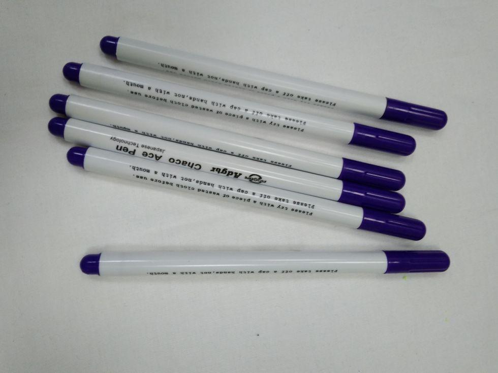 фломастер фиолетовый смываемый