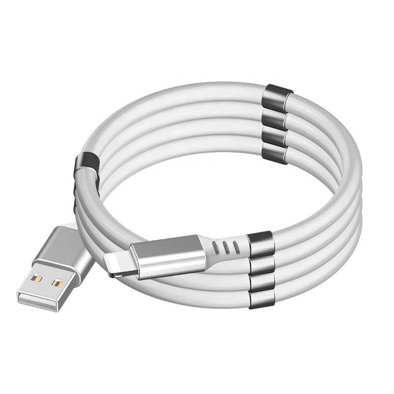Орбита OT-SMI27 Белый кабель USB 2.4A (iOS Lighting) 1м