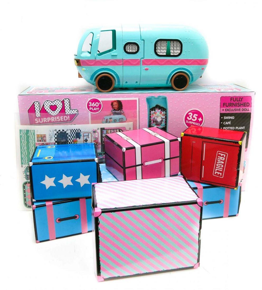 Кукла Сюрприз LOL Surprise Glamper Автобус ЛОЛ с куклой +35 сюрпризов