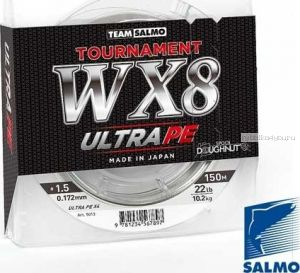 Леска плетеная Salmo Tournament WX8 Ultra PE 150 м