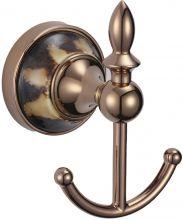 Крючок двойной Savol S-BD6854.розовое золото