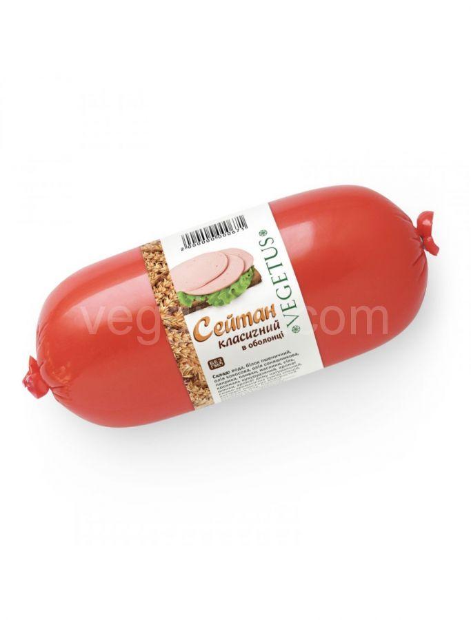 Колбаса пшеничая классика Vegetus, 350 +- Грамм