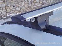 Багажник на интегрированные рейлинги Opel Zafira C, Amos, крыловидные дуги