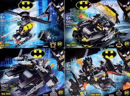 Конструктор PRCK Super Heroes Бэтмен 64027 4 шт (Аналог LEGO Super Heroes) 164-170 дет