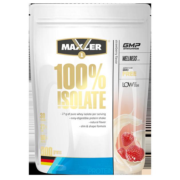 Протеин Изолят Maxler 100% Isolate 900гр (30порций)