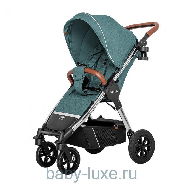 Коляска прогулочная Carrello Supra (с надувными колесами)