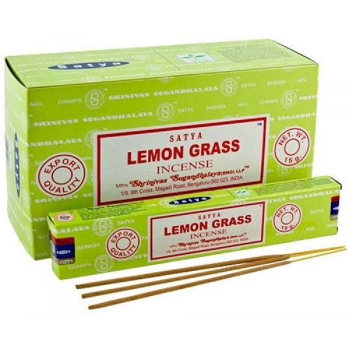 Благовония Tropical Lemongrass | Тропический лемонграсс | 15 г | Satya