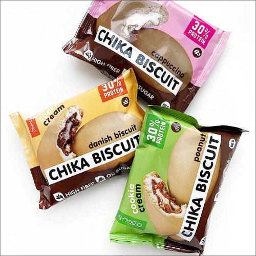 Протеиновое бисквитное печенье Chikalab 50гр