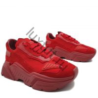 Красные женские кроссовки Дольче Габбана Dolce Gabbana купить в интернет магазине
