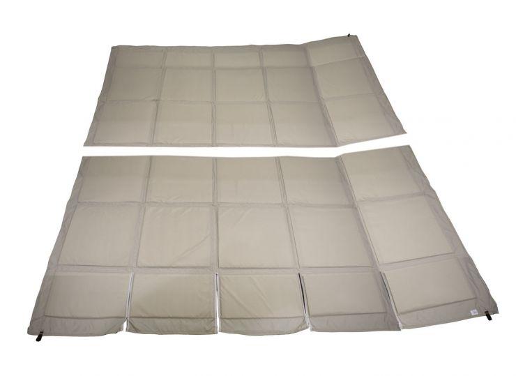 Пол для зимней палатки КУБ 4 2,75х2,75м серый Оксфорд 300 СТЭК