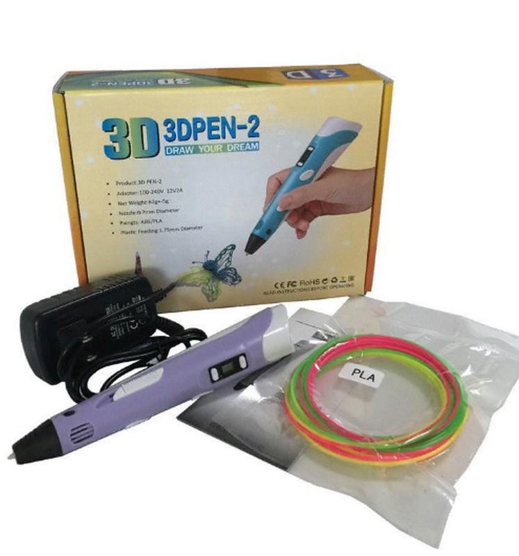 3D ручка c LCD дисплеем 3D Pen 2