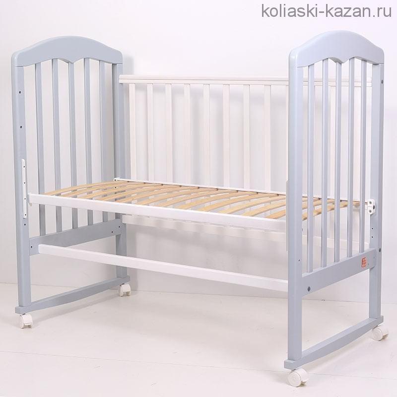 Кроватка детская Топотушки Сильвия 2 качалка
