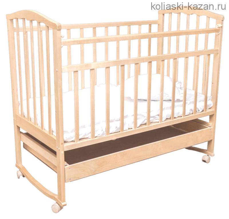 Кроватка качалка Агат Золушка 2