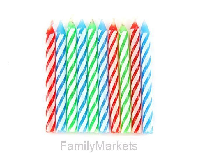 Незадуваемые свечи для торта Magic Relighting Candles