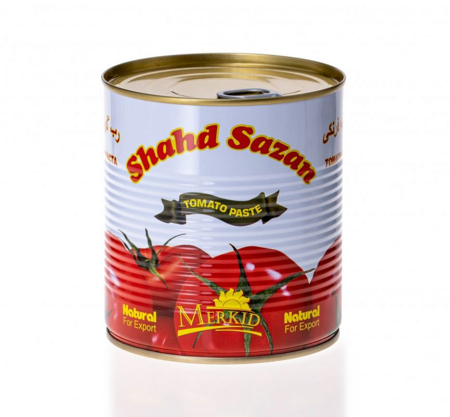 Томатная паста ТМ «Shahd Sazan» 790г