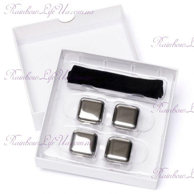 Камни кубики для виски 4 шт