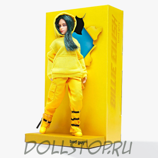 Лимитированная кукла Билли Айлиш «Bad guy» - doll Billie Eilish «Bad guy»