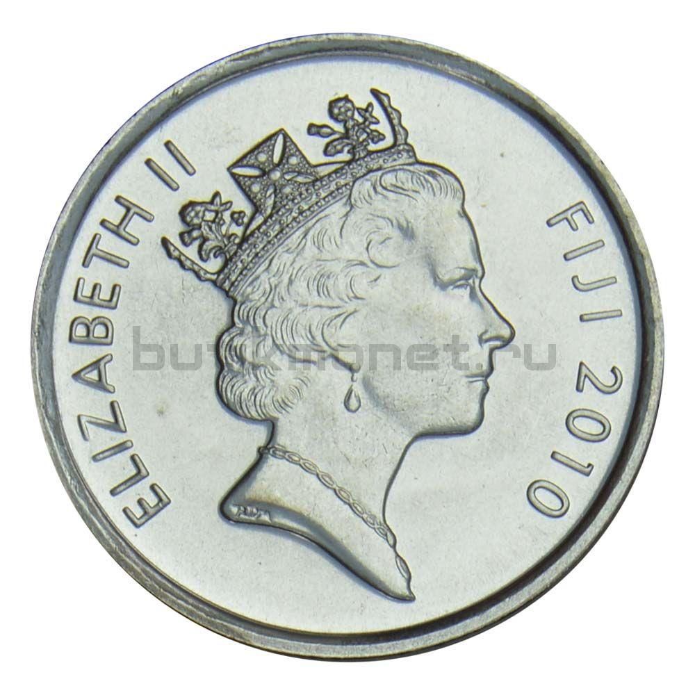 5 центов 2010 Фиджи
