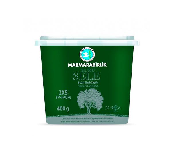 "Маслины ""Marmarabirlik"" 2XS-351-380 kuru sele в масле п/э (400г)"