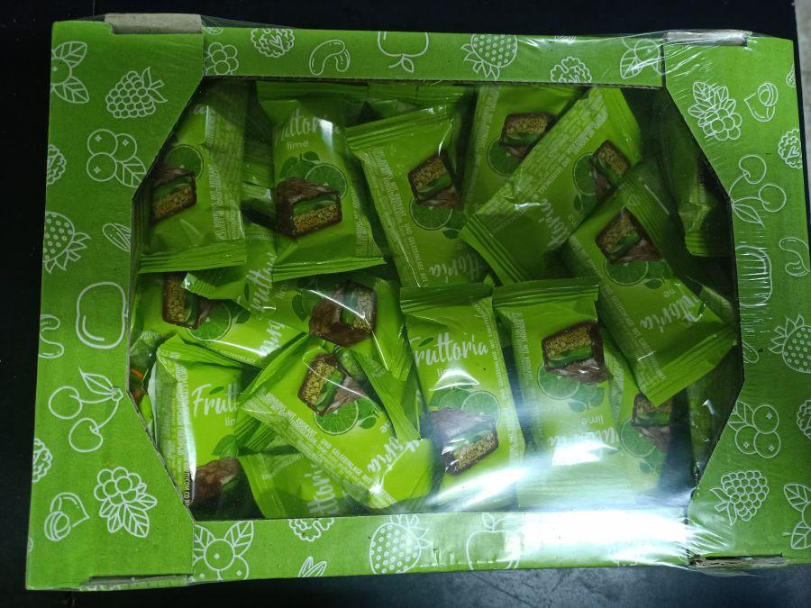 Конфеты-мюсли лайм уп 500 гр