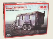 L3H163 Kfz.72, Немецкий автомобиль радиосвязи, 2МВ