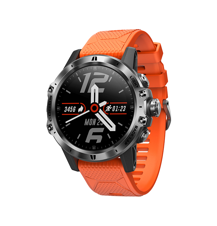 Часы Coros VERTIX GPS Adventure Watch Fire Dragon