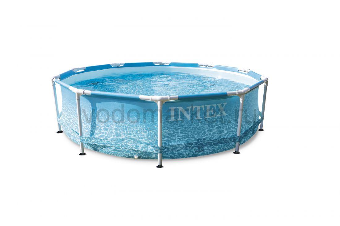 Каркасный бассейн (305х76см) круглый 28206