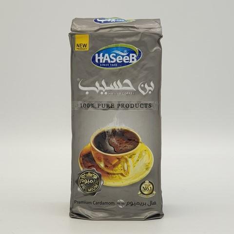 Арабский кофе с кардамоном premium Cardamon Хасиб HASEEB, 200 гр