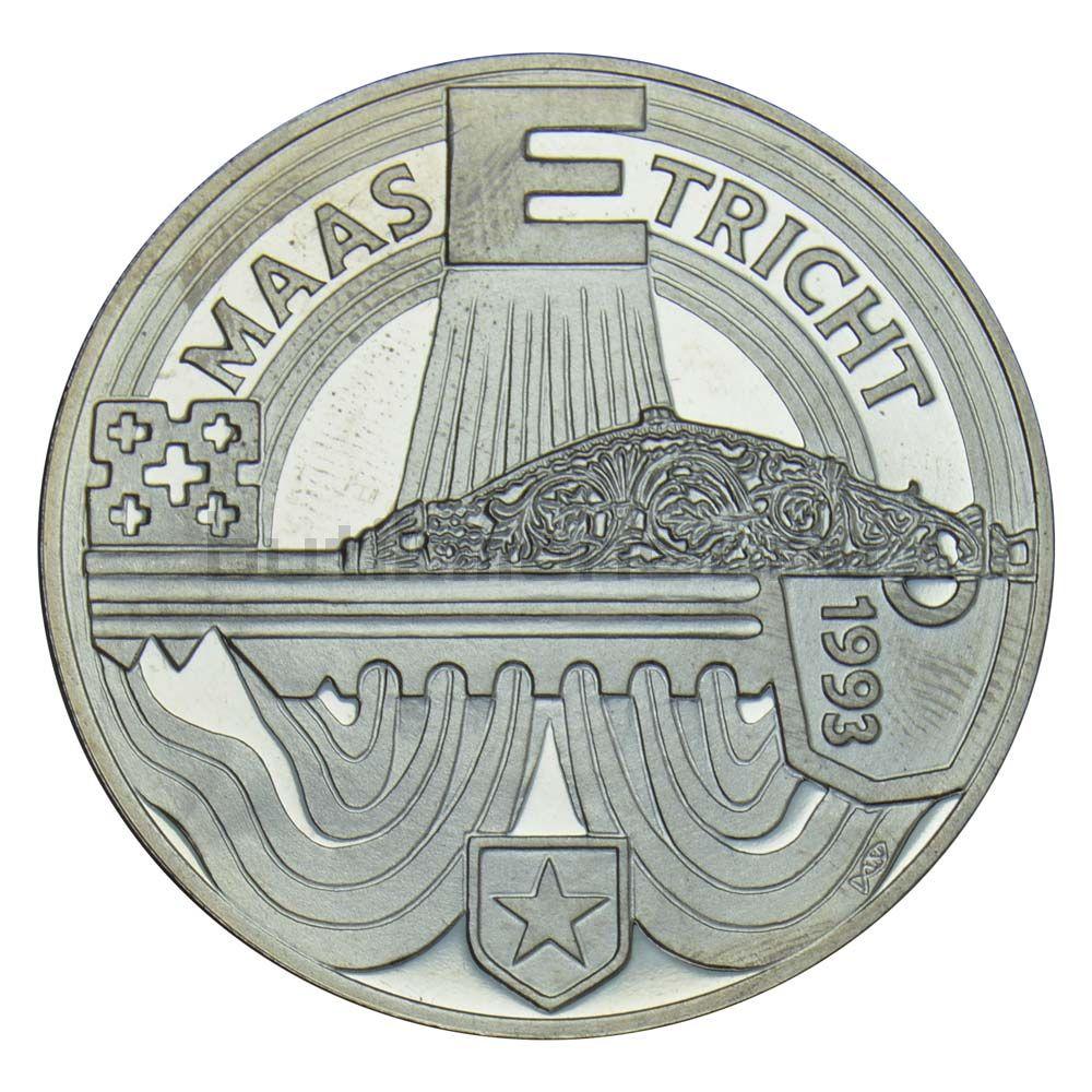 10 экю 1993 Нидерланды Маастрихтский договор