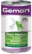 Gemon Dog Adult Medium Bocconi con Agnello e Riso Консервы для собак средних пород с кусочками ягненка и рисом (1250 г)