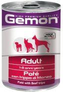 Gemon Dog Adult Paté con trippa di Manzo Паштет для собак с говяжьим рубцом (400 г)