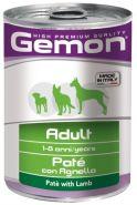 Gemon Dog Adult Paté con Agnello Паштет для собак с ягненком (400 г)