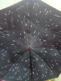 Зонт-наоборот антизонт с кнопкой капли дождя