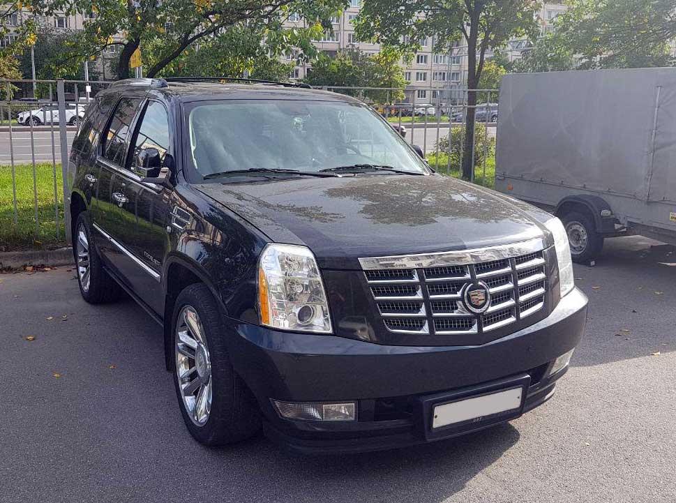 Cadillac Escalade 6,2л. 2013г. в Санкт-Петербурге