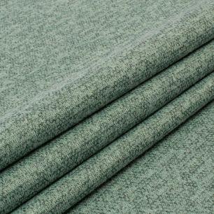 Лоскут трикотажной ткани - Сандра меланж фисташковый 50х37 см