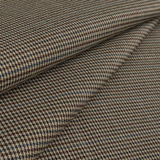 Лоскут трикотажной ткани -  Костюмный Гусиная лапка 50х36