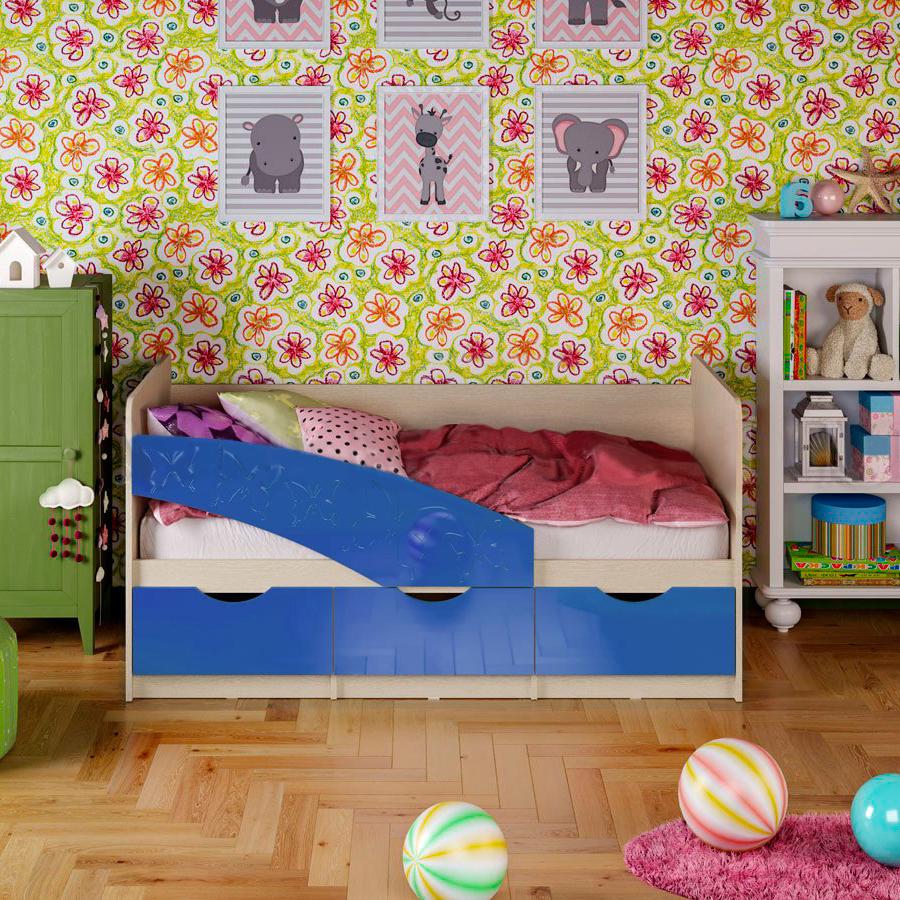 Кровать Бабочки 0,8*1,8 м